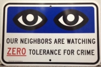 CRIME WATCH SIGNS Image